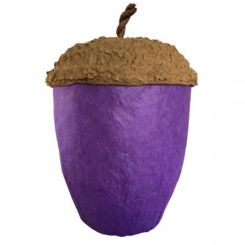 Acorn Design Biodegradable Cremation Ashes Urn – LAVENDER