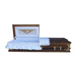 The Worcester Premier Half View Casket - Beautiful South African Caskets