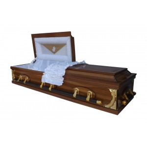 Dutch System Half View Casket - Quality South African Caskets