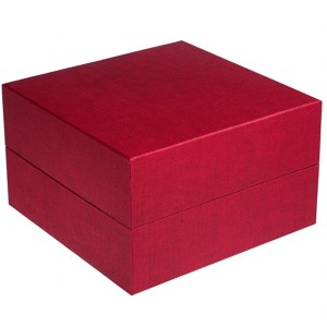 Biodegradable Cremation Ashes Urn / Casket (2 Adults - Companion) - Serenity Ruby Red