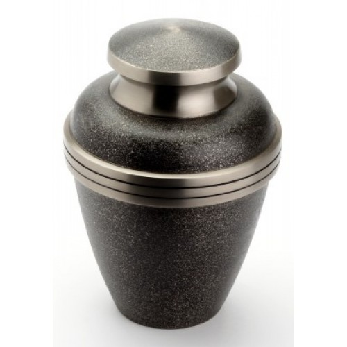 "Large Brass Urn 10"" (Harlow Black UU100019A 210 CI)"