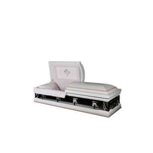 Carnation Two Tone Casket. Huge Savings, Elegant Quality.