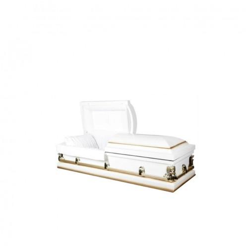 Golden Reflection Casket. Your Online Coffin & Urn Shop