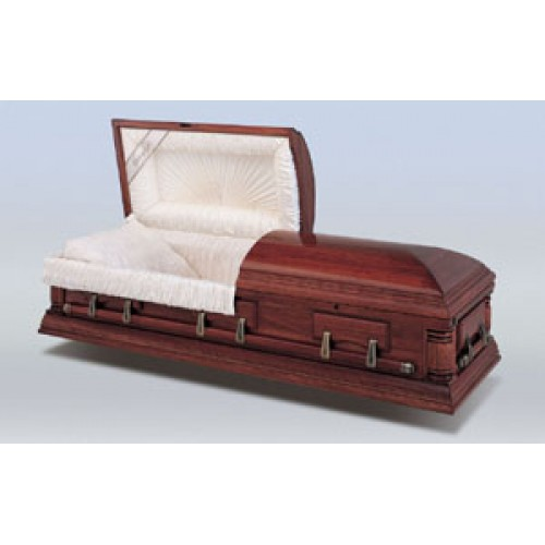 Henley Slim Line Casket. Exceptional Quality. Suitable for Burial or Cremation
