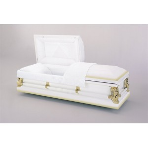 Ivory Gold Premium Casket, Delivering the Highest Quality