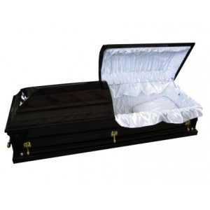 Piano Black Casket - BUY DIRECT, ONLINE & SAVE