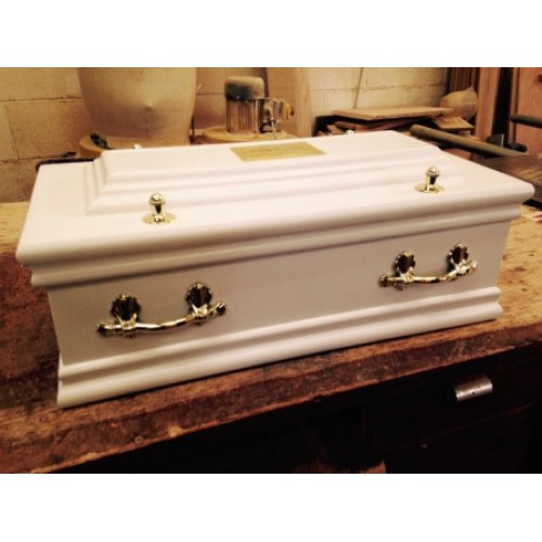 Purity Infant Raised Lid Casket