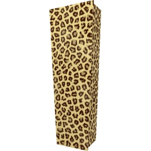Wild Thing (Leopard) - Personalised Picture Coffin with Customised Design.