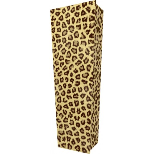 Wild Thing (Leopard) - Personalised Picture Coffin with Customised Design - Call for prices.