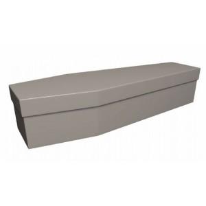 Premium Cardboard Coffin – FROST MINK