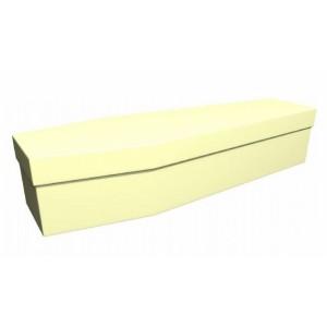 Premium Cardboard Coffin – ORCHID VANILLA