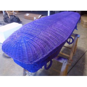"Your Colour Willow ""Angel"" Coffins – PURPLE INFUSION - Available in a range of alternative colours"