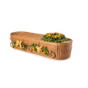 Wicker Willow (Oval Shape) Child Coffins