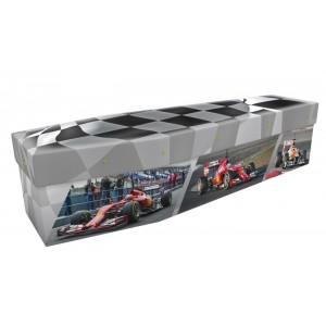 Grand Prix (My World Champion) - Sports & Hobbies Design Picture Coffin