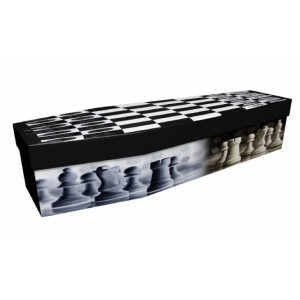 Check Mate – Sports & Hobbies Design Picture Coffin