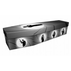 Shaken not Stirred (Secret Service) – Creative Design Picture Coffin