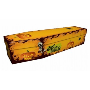 Trick or Treat – Creative Design Picture Coffin