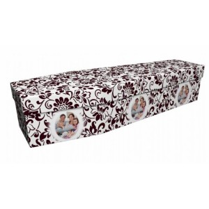 Family Reflections – Abstract & Creative Design Picture Coffin