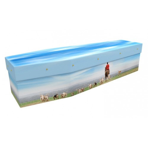 The Hunt - Animal & Pet Design Picture Coffin