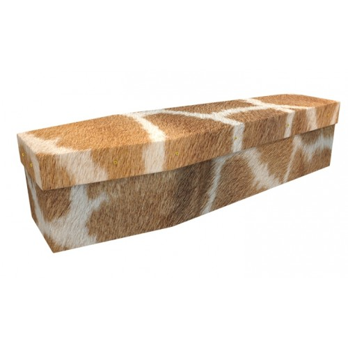Stand Tall (Giraffes) - Animal & Pet Design Picture Coffin