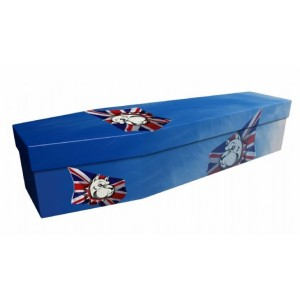 Bulldog Spirit - Animal & Pet Design Picture Coffin