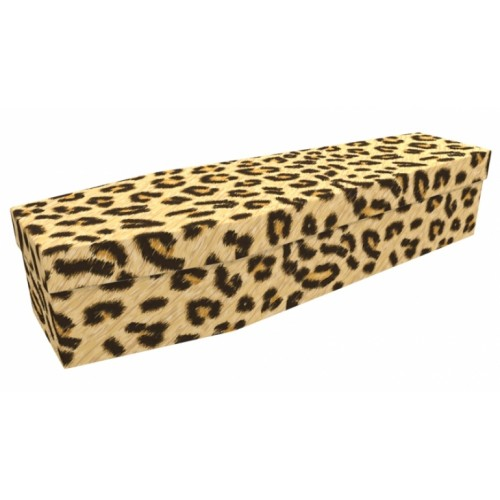 Leopards Skin - Animal & Pet Design Picture Coffin