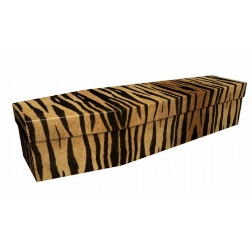 SOS (Save Our Stripes) - Animal & Pet Design Picture Coffin