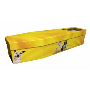 Dogs & Cats – Animal & Pet Design Picture Coffin