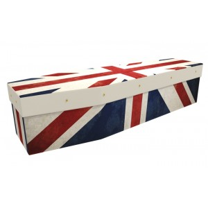 BRITISH FLAG (VINTAGE STYLE) - Flag Design Picture Coffin