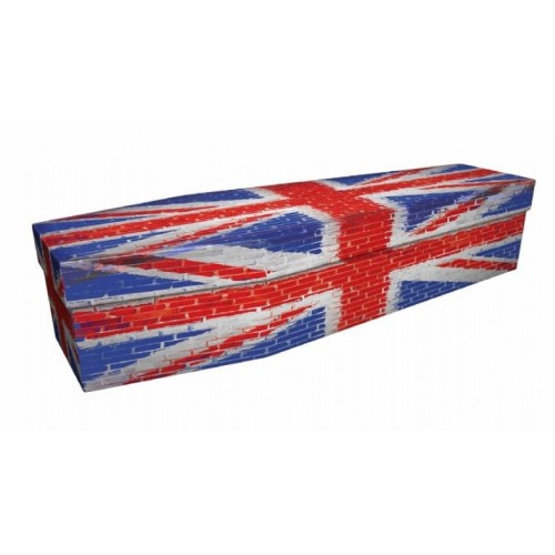 UNION JACK (Brick Finish) - Flag Design Picture Coffin