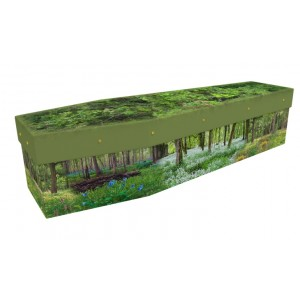Wildflower Woods - Floral Design Picture Coffin