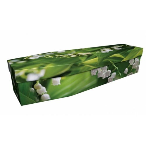Amazing Lily – Floral Design Picture Coffin