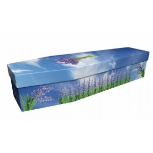 Bluebells (Wild & Free) – Floral Design Picture Coffin