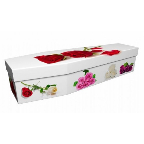 A Rose By Any Other Name - Floral Design Picture Coffin