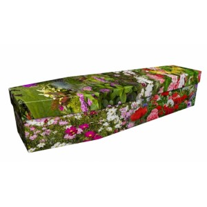 Dream Plants - Floral Design Picture Coffin