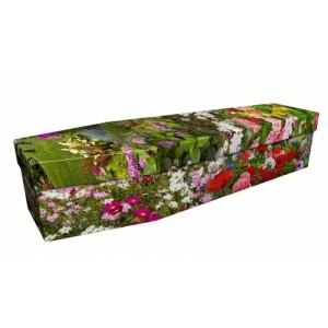 Dream Plants - Floral Design Picture Coffin