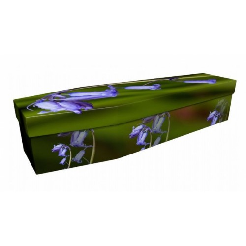 Bluebell – Floral Design Picture Coffin