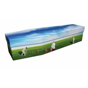 Cricket – Sports & Hobbies Design Picture Coffin