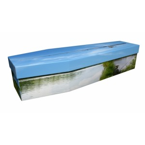 Fly Fishing – Sports & Hobbies Design Picture Coffin