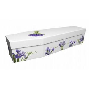 Iris – Floral Design Picture Coffin