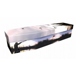 Shooting – Sports & Hobbies Design Picture Coffin
