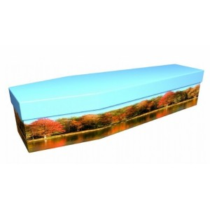 Autumn Woods - Landscape / Scenic Design Picture Coffin