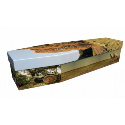 Farmer - Job & Lifestyle Design Picture Coffin