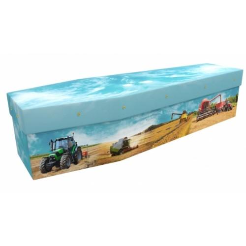 Arable Farmer - Job & Lifestyle Design Picture Coffin