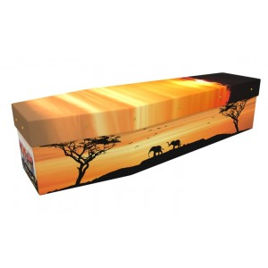 Born Free (Africa) - Landscape / Scenic Design Picture Coffin
