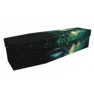 Space Time Traveller - Landscape / Scenic Design Picture Coffin