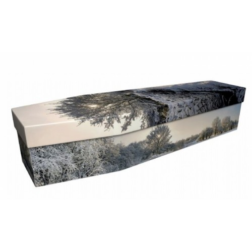 Winter  Wonderland – Landscape / Scenic Design Picture Coffin