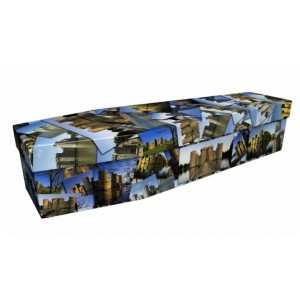English Castles / Forts - Landscape / Scenic Design Picture Coffin