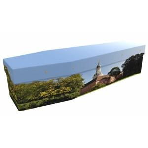 Beyond The Walls (Church) - Landscape / Scenic Design Picture Coffin