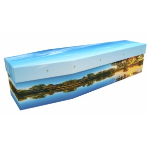Embrace Sundown - Landscape / Scenic Design Picture Coffin